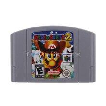 Nintendo N64 видеоигры картридж Консоли Карты Mario Party 2 Английская литература ЕС PAL версия