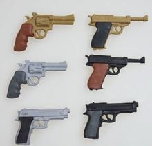 Купить онлайн Горячие Военная униформа новый 3D Ластики для личной коллекции пистолет Ластики Revolver Ластики Desert Eagle Пистолет Ластики 6 шт. в партии