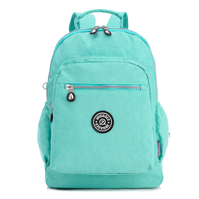 Fresh Style Women Backpacks Waterproof Nylon Book Bags Korean Backpack School Bags for G ...