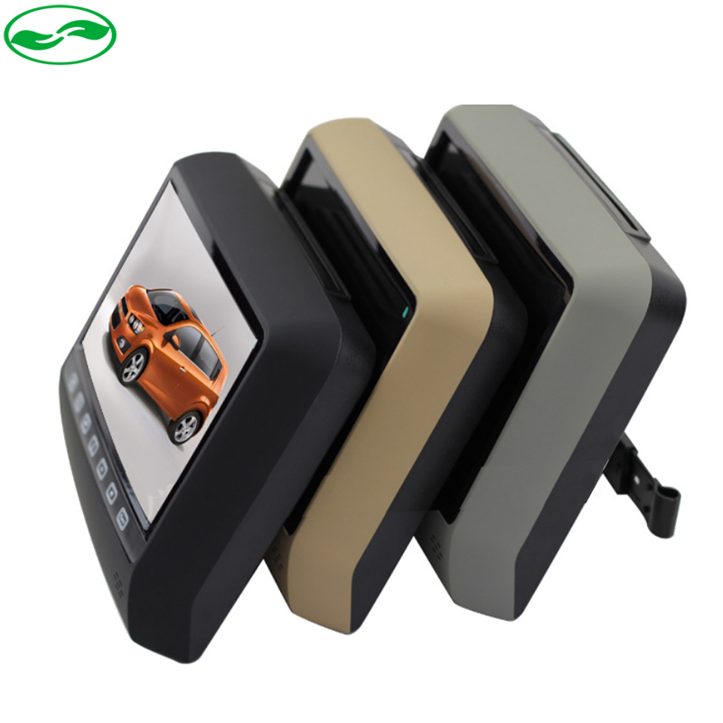 9 Inch Car Headrest DVD Player With USB/SD,Bracket, HDMI, 32 Bits Game, IR, FM transmitter, 800*480 Screen, Built in Speaker