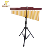 Senrhy High Quality Percussion Instrument 36 Tones Golden Music Bar Chime With 36 Single Aluminum Tube