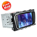 """7"""" Car DVD Player GPS Navigation in Dash Car Radio Double 2 Din for Ford Focus Mondeo S-max Galaxy Kuga +Africa Map +Free Card"""