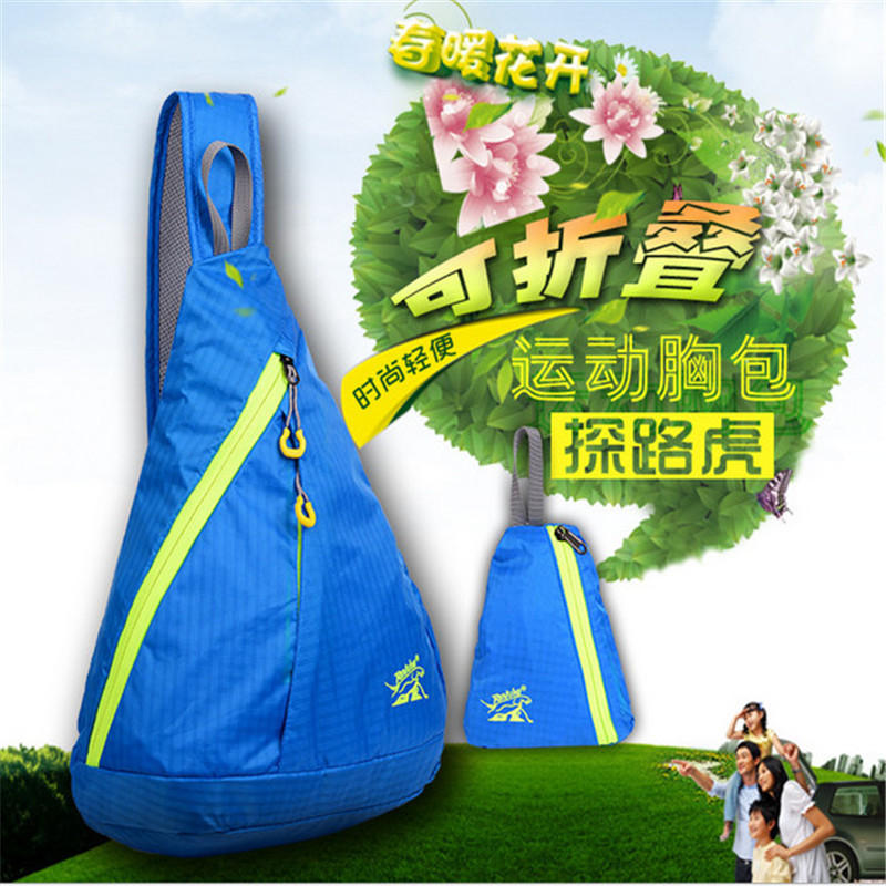 Sports Backpack TANLUHU 824 Nylon Foldable Sports Bag Men Women Chest Bag Outdoor Climbing Hiking Bag in Climbing Bags from Sports Entertainment