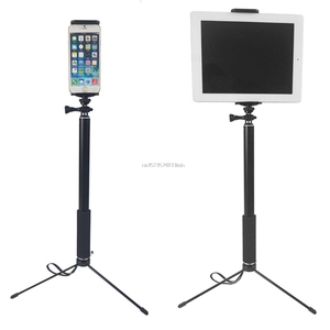 Image 3 - 1.5m/2m Extendable Selfie Stick Tripod Stand for iPhone iPad DSLR Android Gopro