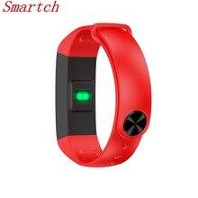 Smartch оригинальный M2S умный браслет Bluetooth трекер сердечного ритма крови Давление монитор PK iwown i5