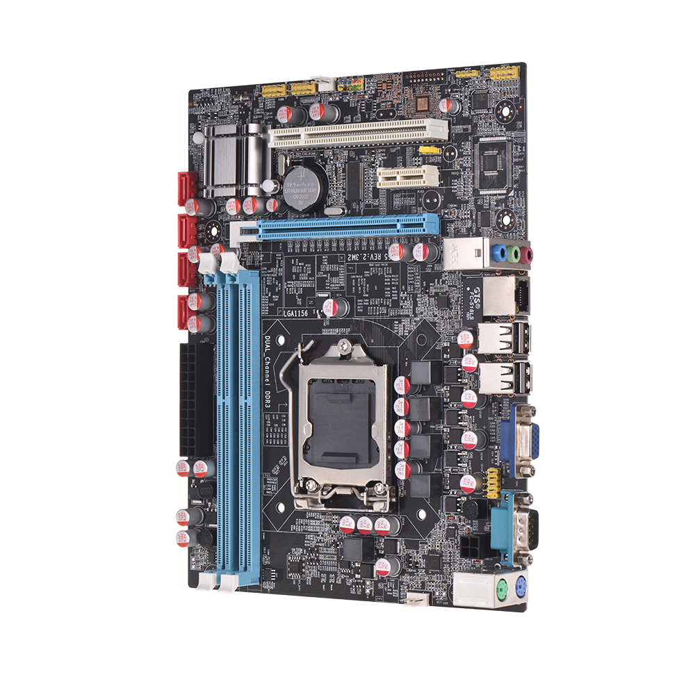 H55 LGA1156 DDR3 Supports I3 I5 I7 CPU Motherboard PCI-Express USB Ports Mainboard