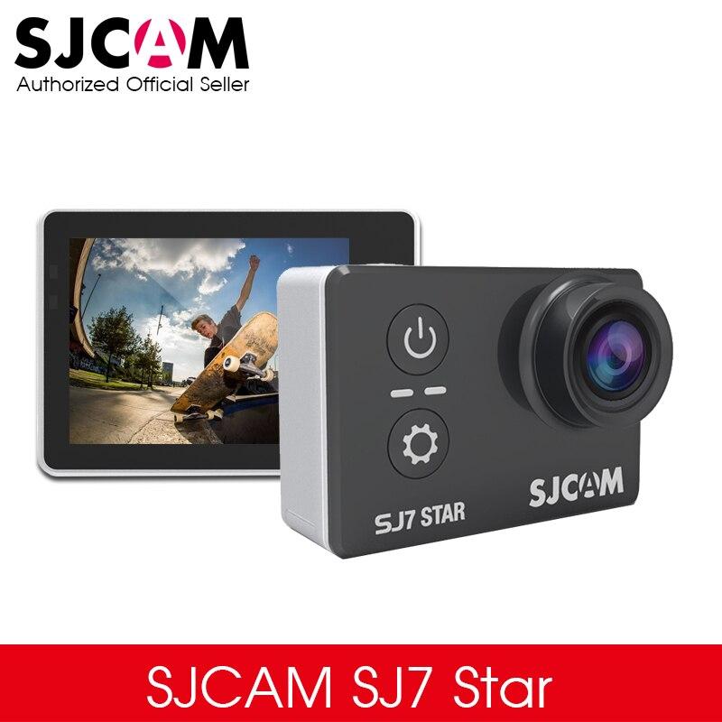 """bilder für Ursprüngliche SJCAM SJ7 Stern 4 Karat 30fps 2,0 """"Touch Screen Remote Ultra HD Ambarella A12S75 30 Mt Wasserdichte Sport Action Kamera Auto DVR"""