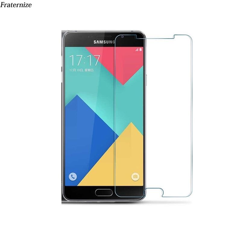 För Samsung Galaxy J3 J5 J7 2017 J2 Prime A3 A5 A7 2017 Premium härdat glas genomskinlig skärmskyddsfilm