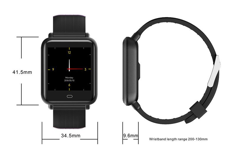 Reloj inteligente IP67 con Monitor de ritmo cardíaco 29