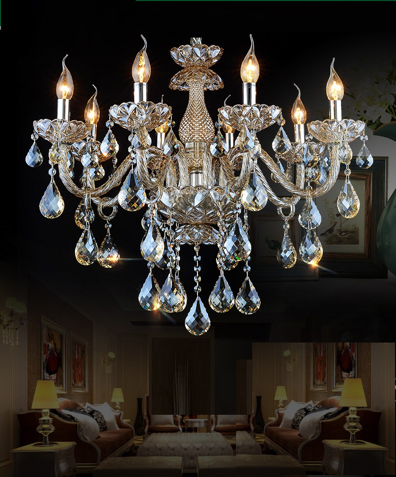 FREE SHIPPING chandelier crystal bedroom living room chandelier light crystal lighting chandeliers Luxury Chandelier Lighting