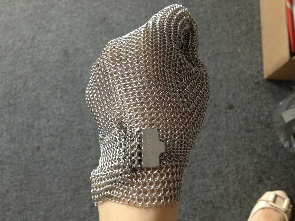 High Quality Stainless steel Welding Chainmail Butcher Safe Gloves цена