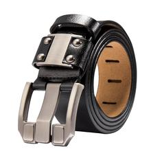Men's Jeans Leather Belt