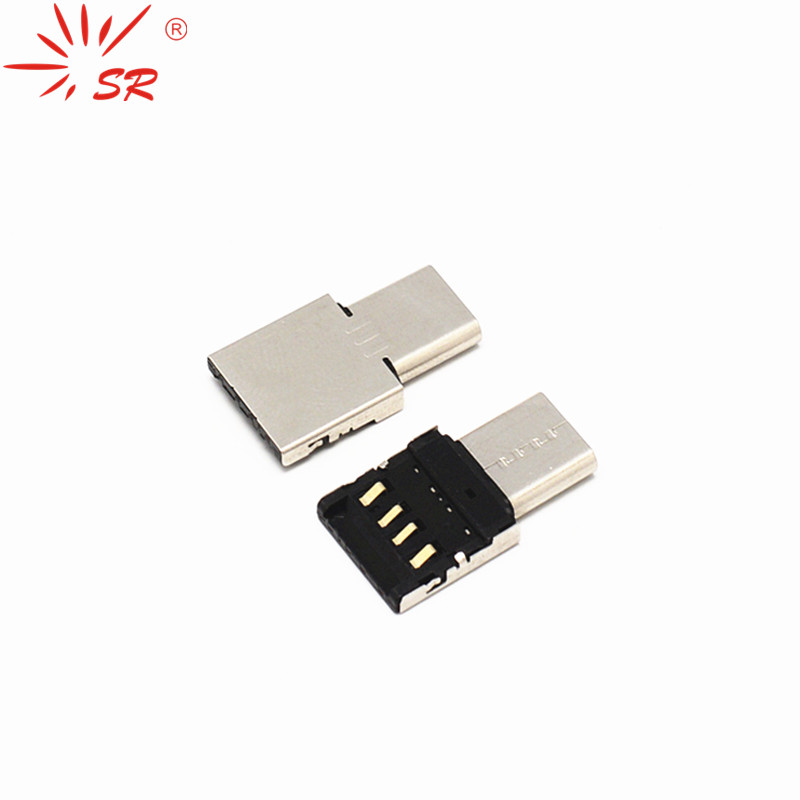 SR Micro USB To Type-C USB OTG Adapter Converter Data Sync For Android Macbook Samsung Xiaomi6
