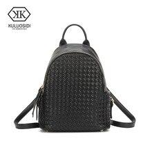 Kuluosidi сумка женщины рюкзак Твердые Рюкзак Дамы школьный рюкзаки для девочек Повседневная дорожная сумка Mochila Feminina