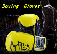 10 14oz Plus size Boxing Gloves Pretorian Muay Thai Twins PU Adult Male Female Boxing Gloves Training in MMA Guante Box Gloves