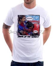Dawn of SUAREZ CHELSEA LIVERPOOL JAWS BITE GNAWS funny white t-shirt 9623(China)