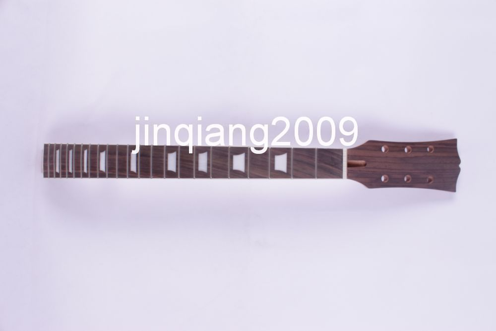 new Bonding Unfinished electric guitar neck Mahogany & Rosewood FINGERBOARD 7# high quality custom shop lp jazz hollow body electric guitar vibrato system rosewood fingerboard mahogany body guitar