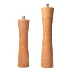 UPORS oryginalne drewno młyn solny instrukcja młynek do soli i pieprzu ruch ręczny młynek do przypraw z ceramicznymi gadżetami kuchennymi 8/10 Cal