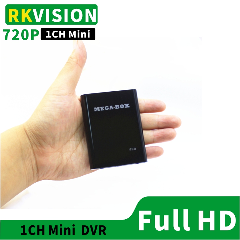 1CH Mini DVR supports AHD720P CVBS recording Industrial video equipment supports TF card USB storage-in Surveillance Video Recorder from Security & Protection
