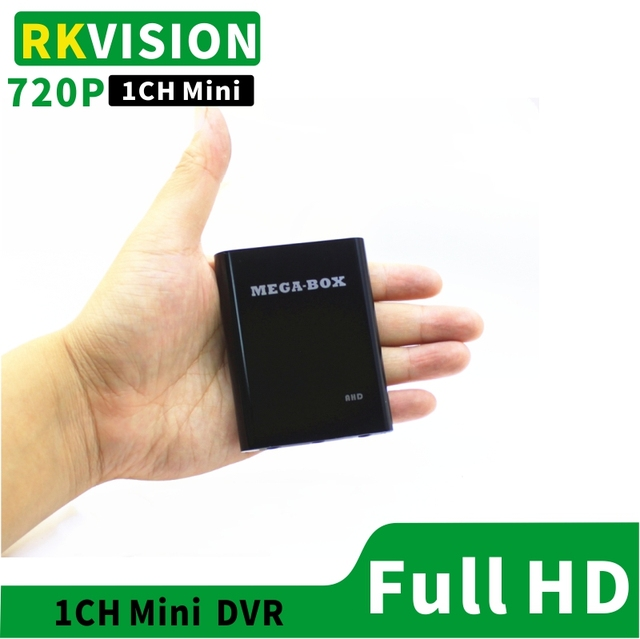 1CH Mini DVR supports AHD720P CVBS recording Industrial video equipment supports TF card USB storage