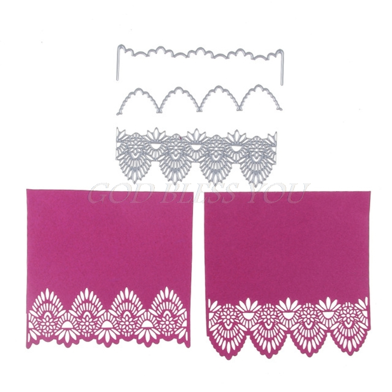 Lace Cutting Dies Stencil For DIY Scrapbooking Embossing Album Paper Card Craft