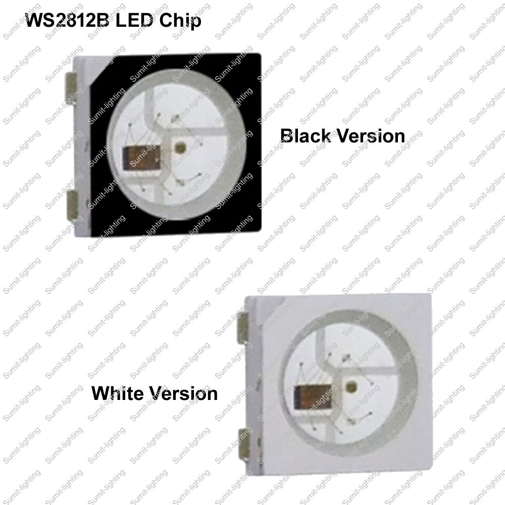 ᗑ】50-1000pcs DC5V WS2812B (4pins) 5050 SMD w/ Built-in WS2811 IC ...