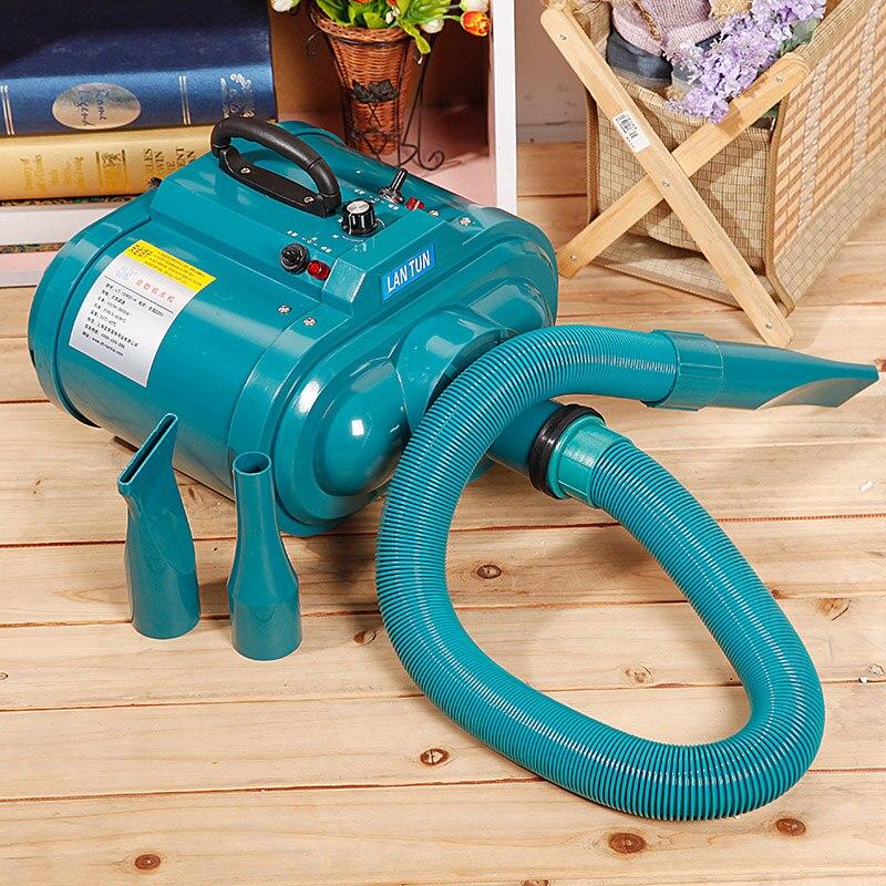 LT-1090DH sèche-cheveux pour animaux de compagnie double moteur forte puissance faible bruit vitesse infinie 3200 W sèche-cheveux pour chien