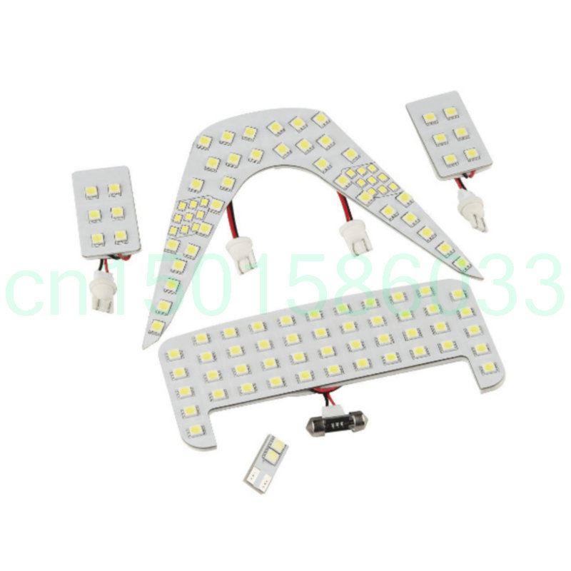 Car Led Interior Lighting For Toyota CHR 2017 Car Auto automotive Interior light bulbs lamp for cars 5pc