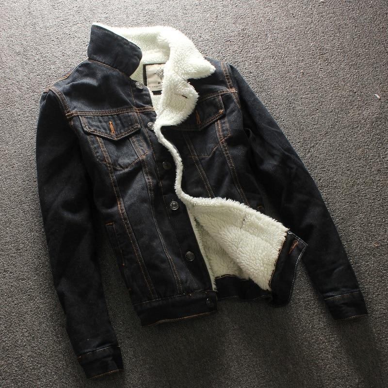 2019 herfst winter nieuwe heren bontvoering fleece jas mode slim fit - Herenkleding - Foto 5