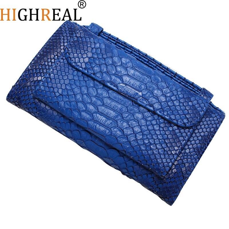 Crocodile Pattern Genuine Leather Handbags Women's Shoulder Bags