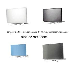 Image 5 - 1 paar Tragbare Laptop Stand Faltbare Halter Notebook Unterstützung Einstellbare Desktop Halterung Ergonomische Laptop Stand