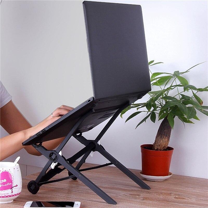 Creative Adjustable Vented Laptop Table Computer Desk Portable