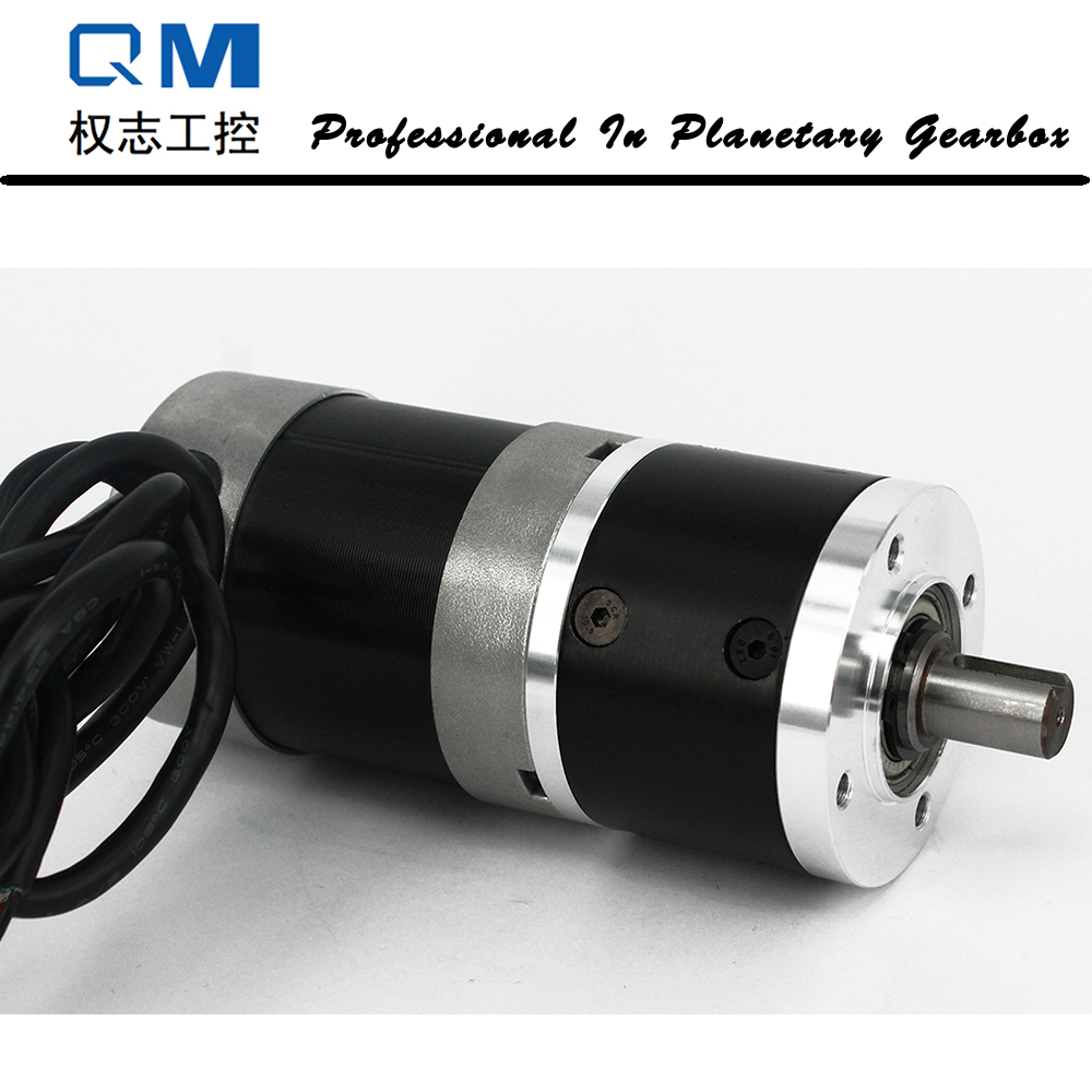Gear dc motor planetary reduction gearbox ratio 3:1 nema 23 100W brushless dc motor 24V gear bldc motor high quality 5n m 42 42 119 7mm brushless dc motor with planetary gearbox reduction ratio 104 8