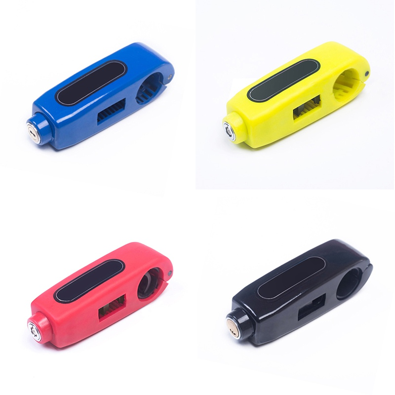 Newest Motorcycle Anti-Theft Security Lock Motorcycle Scooter Bicycle Motorbike Handlebar Throttle Grip Security Lock