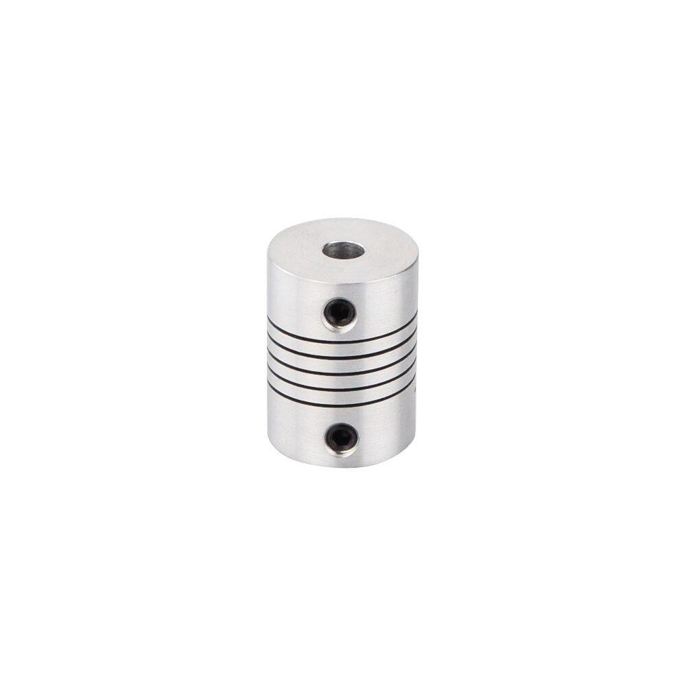 Гибкая соединительная муфта для ЧПУ шагового двигателя вала муфты кодеры из алюминиевого сплава 5 мм * 5 мм/5 мм * 6,35 мм/6,35 мм * 6,35 мм/6,35 мм * 8 мм