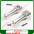 "CNC 22mm Aluminum Alloy Clamps 7/8"" Handlebar Mounts Riser Clamp for DAX Monkey Bike Motorcycle ATV parts 10cm Height"