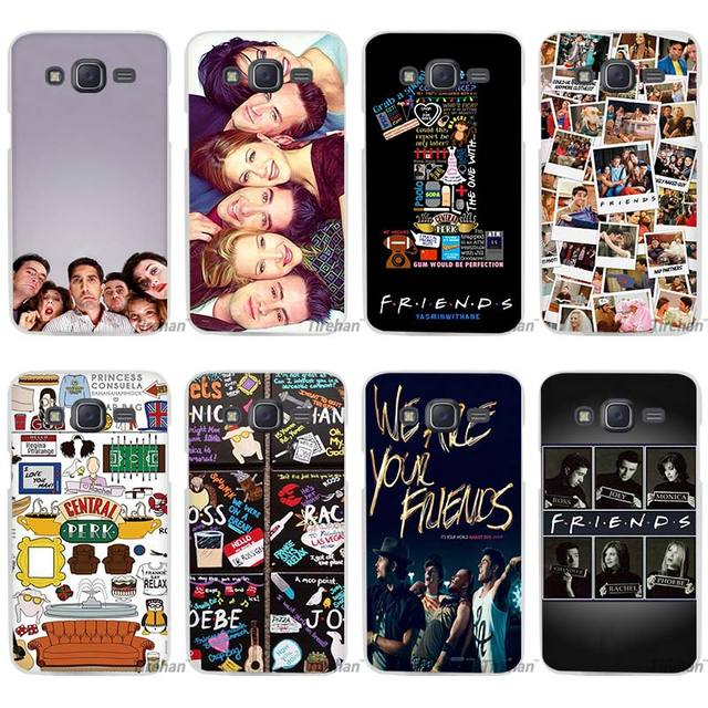 Hot Sale Friends Together Clear Case Cover Coque Shell For Samsung