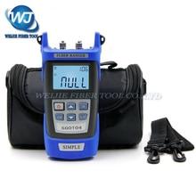 Ручной OTDR 60 км Fibra придраться тестер 1310 или 1550nm SGOT04 Fibra останова детектор неисправностей с VFL FC/ разъем SC