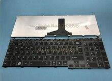 แป้นพิมพ์ใหม่สำหรับ TOSHIBA Satellite C650 C655 C655D C660 L650 L655 L670 L675 ภาษาสวีดิช/ภาษาฟินนิช/เดนมาร์ก/Nordic แป้นพิมพ์ Glossy Black