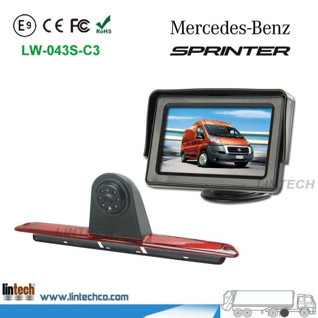 4 3 car monitor brake lights backup Camera system For Mercedes Benz Sprinter_640x640 aliexpress com buy 4 3\