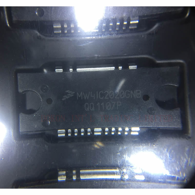 MW4IC2020GNB RF LDMOS Wideband Integrated Power Amplifiers 1805-1990MHz 20W 26V GSM/GSM EDGE CDMA MW4IC2020GNBR1