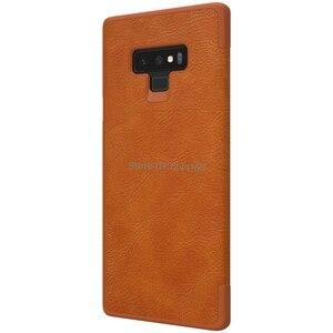 Image 4 - Fall Für Samsung Galaxy Note 9 NILLKIN Qin Serie Flip Abdeckung Fall Für Samsung Hinweis 9 Note9 Buch Flip PU leder Fall