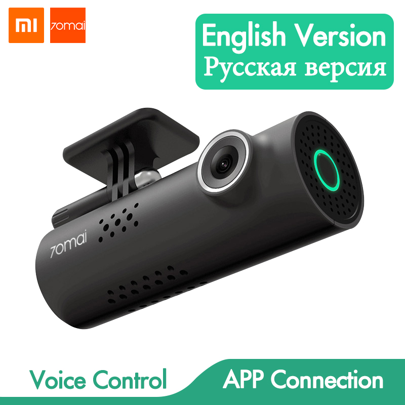 Voice Control Xiaomi 70mai Car DVR Camera Full HD 1080P Dash Cam Car Camera Wifi Night Vision 130 Wide Angle Driving Recorder(China)