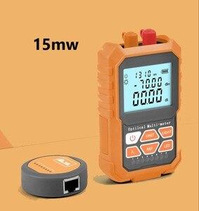 Image 1 - 3in1 compteur dénergie optique localisateur de défaut visuel câble de réseau Test de fiber optique tester15mw VFL compteur dénergie à fibers optiques outil Ftth