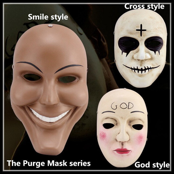 100% Top Resin Halloween Party Cosplay Gmask The Purge