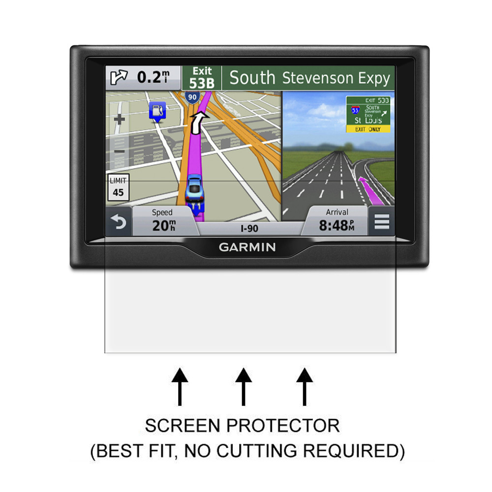 US $9 99 |3x Anti Scratch Clear LCD Screen Protector Shield Film for Garmin  Nuvi 57 57LM 57LMT 58 58LM 58LMT 5''GPS-in Phone Screen Protectors from