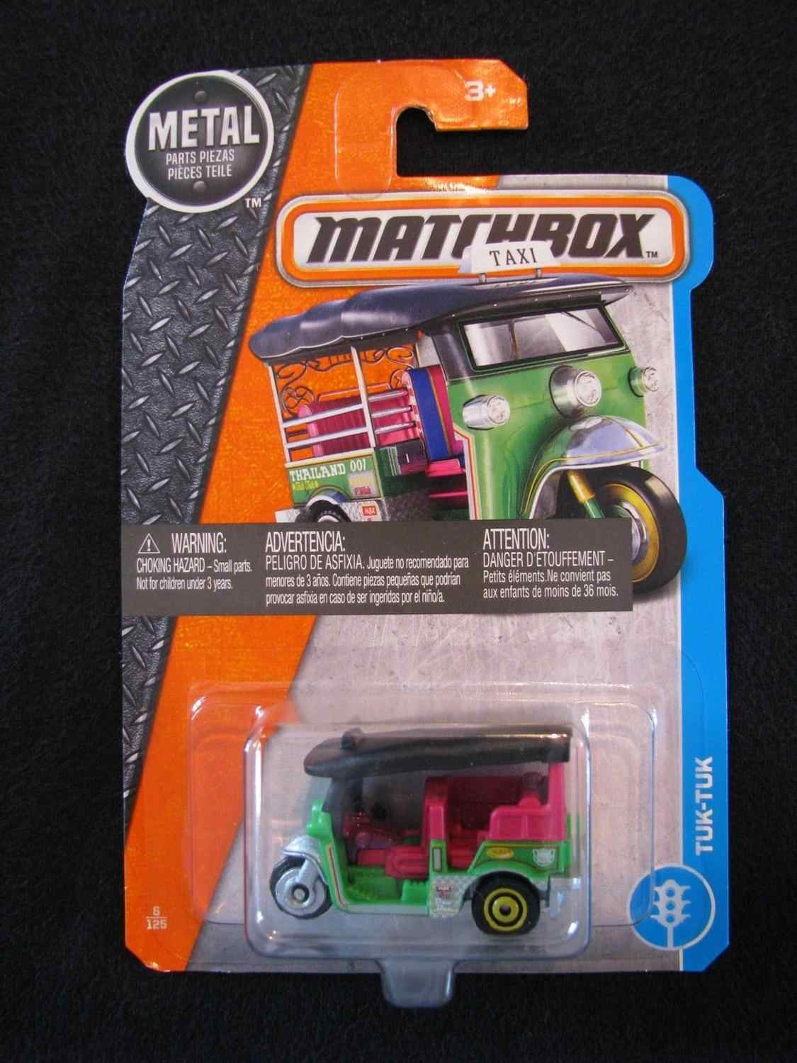 Matchbox Auto Thailand TUK-TUK Collector Edition Metal Diecast Model Auto Kinderen Speelgoed Gift