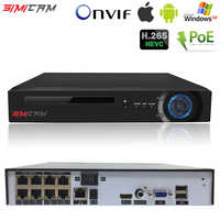 NVR POE CCTV recorder H.265 H.264 4/8CH Video Recorder NVR Security POE IP Camera video Surveillance ONVIF 2MP/5MP Network DVR