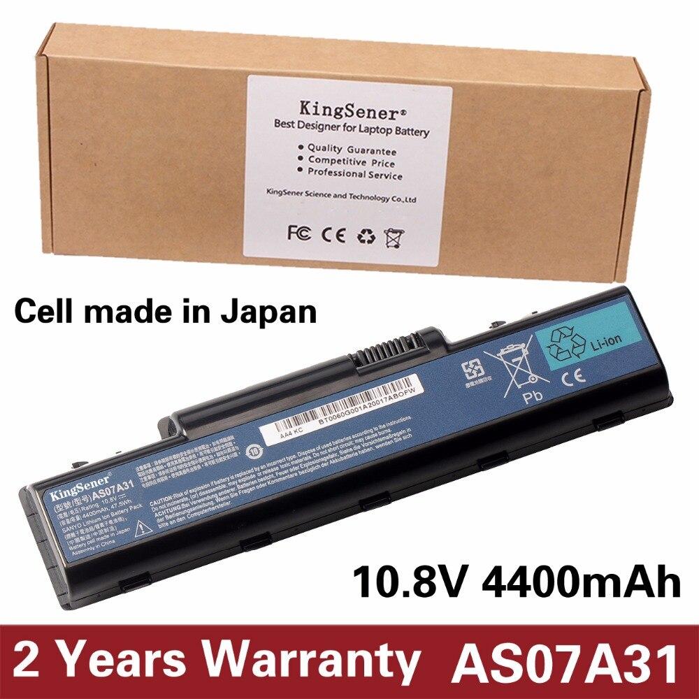купить KingSener Japanese Cell AS07A31 Battery for Acer Aspire 2930G 4740G 5738G 4930 5735 5740 AS07A32 AS07A41 AS07A42 AS07A51 AS07A52 по цене 2001.17 рублей