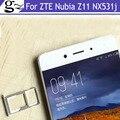 Оригинал Для ZTE Nubia Z11 nx531j Nano Sim + Карта Micro Sd Держатель Лотка Слот Разъем Запасные Части Бесплатная Доставка